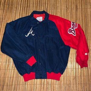 Vintage Atlanta Braves Starter MLB Jacket Coat